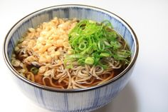 New Year Soba (Toshikoshi Soba)  Slurp in the New Year with this traditional noodle dish made from buckwheat soba noodles in a hot dashi, mirin and soy sauce soup. Garnished with spring onion and kamaboko fish cake, New Year Soba symbolises wishes for good luck in the year ahead.