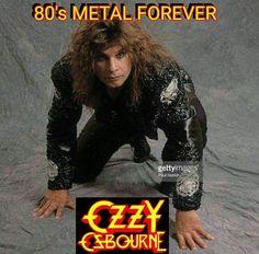 Ozzy Osbourne Young, Ozzy Osbourne Black Sabbath, Prince Of Darkness, Zakk Wylde, Classic Rock, Rock Bands, Rock N Roll, Heavy Metal, Alternative Music