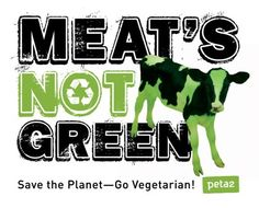 The meat industry produces more pollution than all cars, trucks, trains, planes, and ships in the world combined. Going vegetarian prevents more pollution than switching your car from an SUV to a hybrid sedan. Reduce your meat consumption to save the planet!
