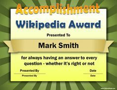 Free funny award certificates templates sample certificates 101 funny employee awards google search yelopaper Image collections