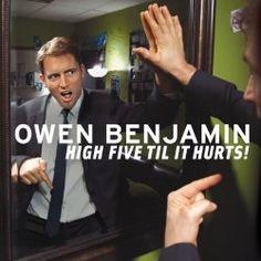 "Comedy Reviews: Owen Benjamin's ""High Five Til It Hurts!"""