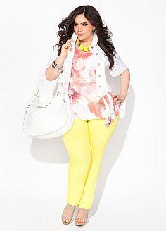 Plus Model: Nicole Zepeda,  Agency: MSA Models in New York City, Ashley Stewart
