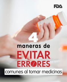 Hágale preguntas a su doctor y evite errores al tomar sus medicamentos #medicinas