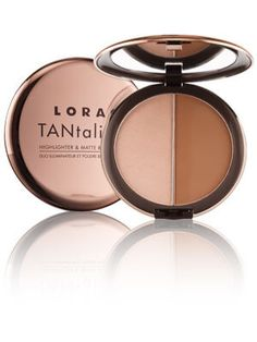 TANtalizer Highlighter and Matte Bronzer Duo from Lorac | Find more cruelty-free beauty @Quirkist |