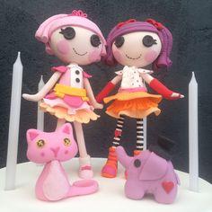 Fondant Lalaloopsy Dolls