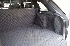 Range Rover Sport (2013- Present) Quilted Waterproof Boot Liner (Use with a Dog Guard)