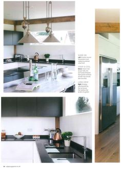 The July issue of EKBB Magazine shows a new kitchen renovation in which the Abode Linear Single Lever is featured. New Kitchen, Magazine, Home Decor, Interior Design, Home Interior Design, Magazines, Home Decoration, Decoration Home, Interior Decorating