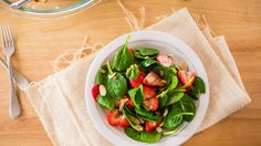 Strawberry Spinach Salad Poppyseed Dressing