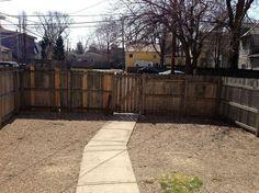 diy budget backyard and deck makeover, concrete masonry, decks, fences, gardening, outdoor furniture, outdoor living