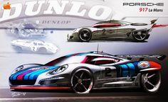 Porsche 917 LeMans concept for 2014