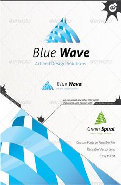 Blue Wave — Vector EPS #cycle #wave • Available here → https://graphicriver.net/item/blue-wave/5573081?ref=pxcr