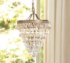 Simple Elegance, Clarissa Glass Drop Chandelier by Pottery Barn