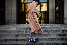 Spotted: the Masterpiece pumps from our FW15 runway show on the streets of #PFW - Shot by Adam Katz Sinding for @wmag