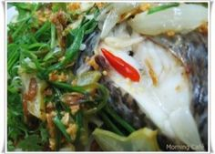 Vietnamese Steamed fish with green onion recipe ( Ca hap hanh ) | Authentic Vietnamese Recipes Desserts of Vietnam