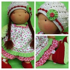 Another sweet waldorf doll!