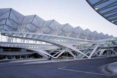 Calatrava Train Station Lisbon Portugal #SantiagoCalatravaArchitecture Pinned by www.modlar.com