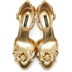 gold ankle straps | Tumblr