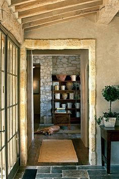 rustic style, Oz Architects Inc., designed by Michael S. Smith   Werner Segarra