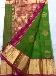 Elegant Fashion Wear Explore the trendy fashion wear by different stores from India Kora Silk Sarees, Crepe Silk Sarees, Elegant Fashion Wear, Trendy Fashion, Saree Dress, Saree Blouse, Saree Tassels Designs, Kanchipuram Saree, Pure Silk