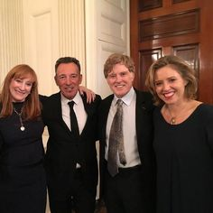 2016-11-22 - THE WHITE HOUSE, WASHINGTON, DC Patti Scialfa, Bruce Springsteen, Robert Redford and Amy Redford