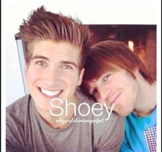 Joey Graceffa & Shane Dawson....Yes Shoey is my OTP!