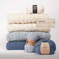 Dalvik / DROPS 185-1 - Free knitting patterns by DROPS Design Drops Design, Kids Knitting Patterns, Free Knitting, Crochet Patterns, Edge Stitch, Chain Stitch, Crochet Diagram, Free Crochet, Laine Drops