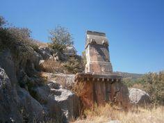 Photo by Ufuk özbulun Statue Base, Asphalt Road, Hiking Routes, Water Sources, The Monks, Acropolis, Fortification, Antalya, Mount Rushmore