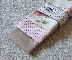 Vintage rózsás textil zsebkendő szett - Gaiaecobag