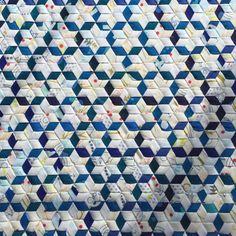 Woven Stars #WEFTYneedle #indigohandcraftedfabrics #aghandcrafted #abacusfabrics…