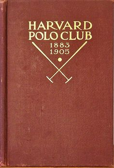 thecarycollection:  One of the rarest polo books in the world available exclusively through The Cary Collection!~