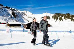 Prince Joachim and Princess Marie on holiday in Villars