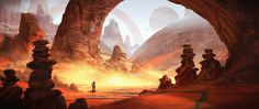 ArtStation - Red Planet, Eddie Mendoza