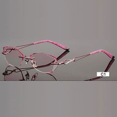 b02ca1c67f9 Fashion Eyeglasses A002 Diamond Trimming Cutting Rimless Eyeglasses. Optical  GlassesGlasses FramesCartierWomen s ...