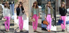 5 Ways To Wear Pink Jeans