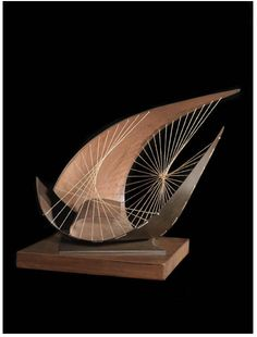 Barbara Hepworth like the structure of a wing