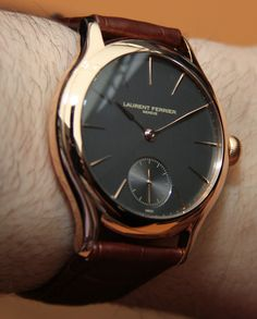 Laurent Ferrier Galet Classic Micro Rotor Automatic Watch Hands On   hands on