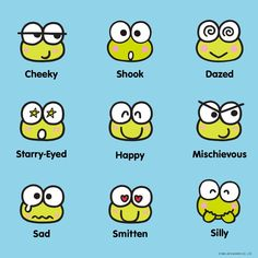 Which Keroppi are you? Keroppi Wallpaper, Sanrio Characters, Fictional Characters, Gender Nonconforming, Apple Stickers, Age Regression, Snoopy, Line Friends, Dear Diary