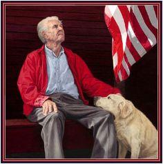 Veteran by Norman Rockwell