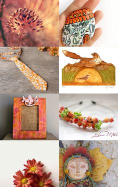 Autumn shades by Gioconda Pieracci on Etsy--Pinned with TreasuryPin.com