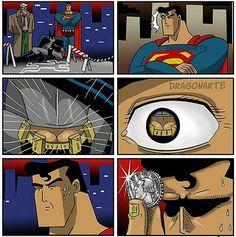 This literally made us LOL. Another hilarious @dragon_arte comic to start your day with a laugh #goodmorning #superman #batman #batmanvsuperman #dawnofjustice #tuesday #marvel #spiderman #hulk #avengers #ironman #civilwar #deadpool #blackpanther #captainamerica #disney #comics #nerd #cosplay #geek #funny #hilarious #hulksmash #xmen #theflash #partynerdz #cartoon