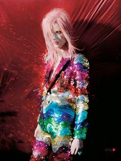 Rainbow Sequins Suit - Inspiration by Color