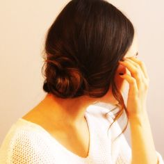 Get the Perfect Side Chignon in Five Easy Steps | slice.ca