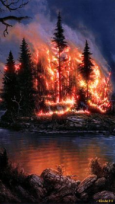 ╰☆╮The Fire Down To The River NOW..   *.♡♥♡♥Love★it