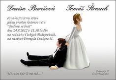 Výsledek obrázku pro originální svatební oznámení