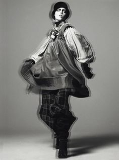Steven Meisel, Modern Magpie, Vogue Italia, April 2006, Coco Rocha