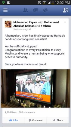 Good news for a change! Loads of love to Palestine <3<3<3