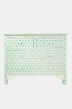 Surrealz Mother of Pearl Bone Drawer Sideboard
