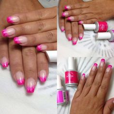 A different way to do a french tip...
