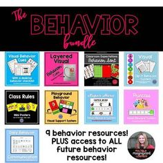 The Behavior Bundle by Multiply Magnificent Learners | TpT Behavior System, Behavior Interventions, Reward System, Token Economy, Communication Log, Classroom Expectations, Visual Cue, Class Rules, Teacher Pay Teachers