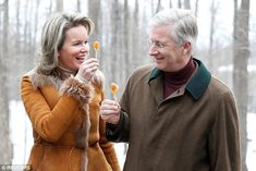 Queen Mathilde, 45, and King Philippe, 57, of Belgium carried out their first full day of engagements in Canada after kicking off their state visit yesterday.